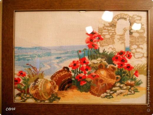 Это Ксюшкин дебют в вышивании. фото 4