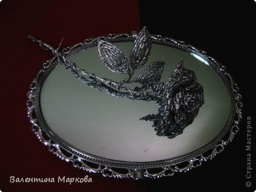 Мастер-класс Поделка изделие Плетение Роза из фольги мастер-класс Фольга фото 43