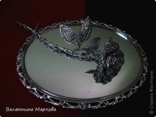 Хочу предствить на суд жителей страны мастеров свой мастер класс по изготовлению розы из фольги.  фото 43