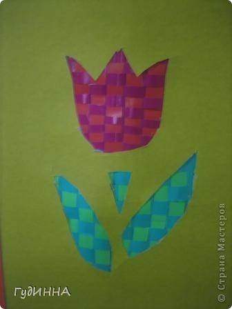 тюльпаны символ Наурыза в технике оригами делали с 3 кл. фото 4