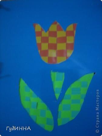 тюльпаны символ Наурыза в технике оригами делали с 3 кл. фото 5