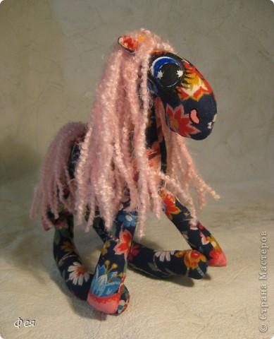 Очень мне понравились лошадки Ируси З http://stranamasterov.ru/node/162746, решила   я себе таких завести  :) фото 1