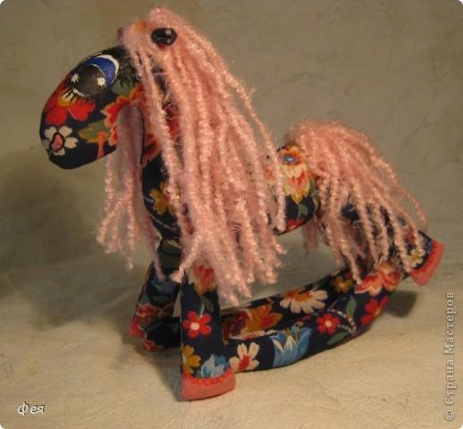 Очень мне понравились лошадки Ируси З http://stranamasterov.ru/node/162746, решила   я себе таких завести  :) фото 2