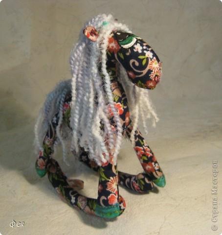 Очень мне понравились лошадки Ируси З http://stranamasterov.ru/node/162746, решила   я себе таких завести  :) фото 5