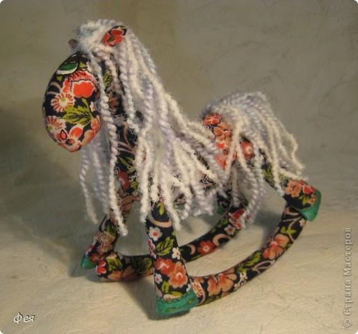 Очень мне понравились лошадки Ируси З http://stranamasterov.ru/node/162746, решила   я себе таких завести  :) фото 4
