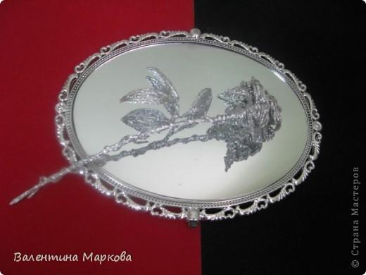 Хочу предствить на суд жителей страны мастеров свой мастер класс по изготовлению розы из фольги.  фото 42