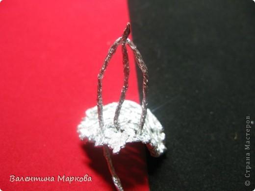 Мастер-класс Поделка изделие Плетение Роза из фольги мастер-класс Фольга фото 17