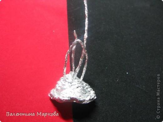 Мастер-класс Поделка изделие Плетение Роза из фольги мастер-класс Фольга фото 18