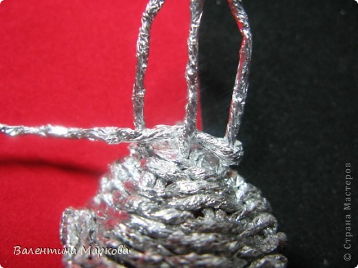 Мастер-класс Поделка изделие Плетение Роза из фольги мастер-класс Фольга фото 19