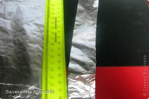 Мастер-класс Поделка изделие Плетение Роза из фольги мастер-класс Фольга фото 2