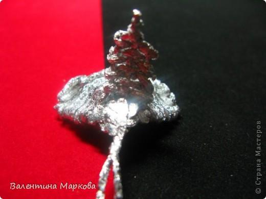 Хочу предствить на суд жителей страны мастеров свой мастер класс по изготовлению розы из фольги.  фото 21