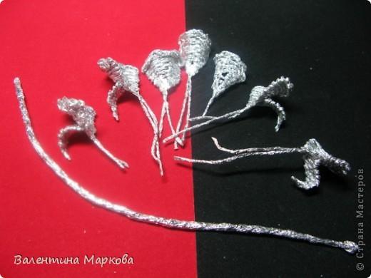 Хочу предствить на суд жителей страны мастеров свой мастер класс по изготовлению розы из фольги.  фото 23