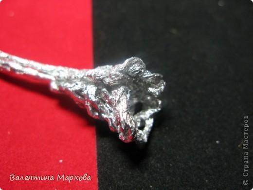 Хочу предствить на суд жителей страны мастеров свой мастер класс по изготовлению розы из фольги.  фото 25