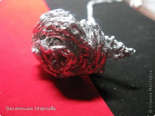 Хочу предствить на суд жителей страны мастеров свой мастер класс по изготовлению розы из фольги.  фото 27