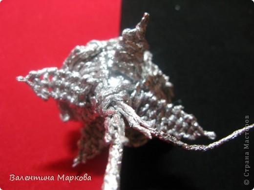 Мастер-класс Поделка изделие Плетение Роза из фольги мастер-класс Фольга фото 30