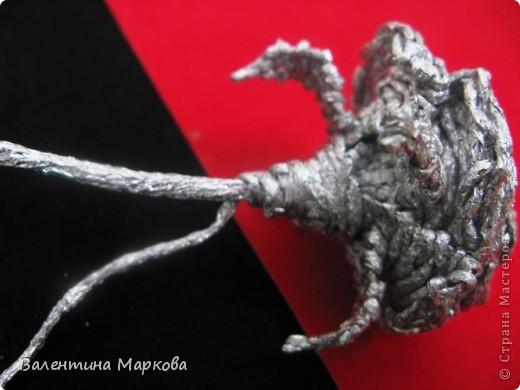 Хочу предствить на суд жителей страны мастеров свой мастер класс по изготовлению розы из фольги.  фото 31