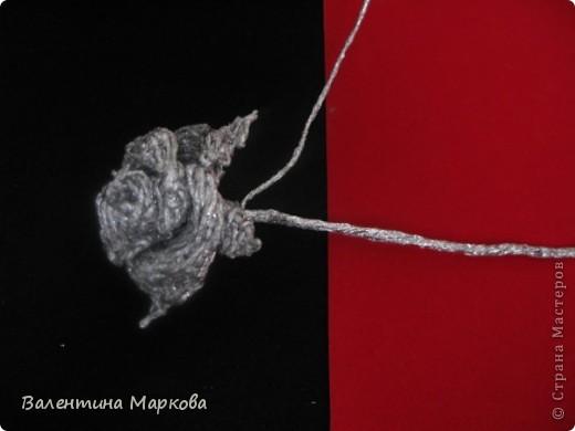 Хочу предствить на суд жителей страны мастеров свой мастер класс по изготовлению розы из фольги.  фото 32