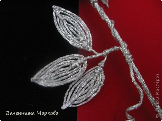 Мастер-класс Поделка изделие Плетение Роза из фольги мастер-класс Фольга фото 40