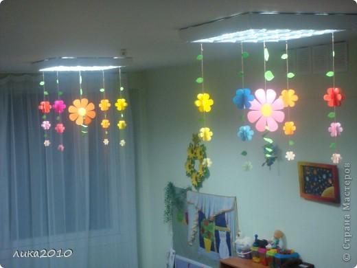 Как украсить группу в детском саду к новому году фото своими руками