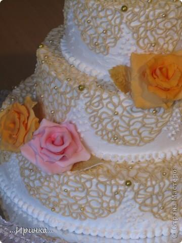 """торт """"Свадебный"""" фото 2"""