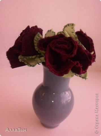 Осуществилась моя давняя мечта по пошиву цветов из ткани. А если конкретней, цветы шили из флиса и вельвета. фото 2