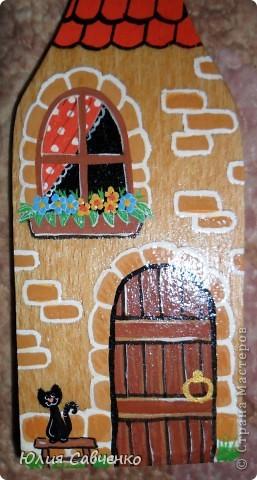 Деревянные лопатки для кухни фото 5