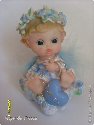 Моя небольшая, но уже коллекция ангелов фото 10