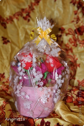 конфетный букетик в подарок фото 6