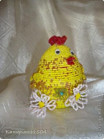 Вот такие яйца у меня получились) Курочка с ромашками! фото 1