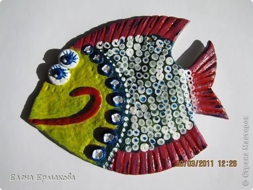 Вот еще одна рыбешка.перекрашивали раза три. фото 1