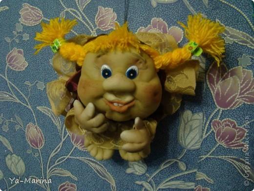 Новый член в семье кукол на удачу :)