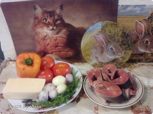 Всем привет)))) Снова делюсь рецептом. Вчера своим решила приготовть рыбку (мясо уже немного поднадоело) вообще-то этот рецепт больше подходит для филе, но у нас его не оказалось, зато была горбуша. Получилось очень вкусно)))) фото 2