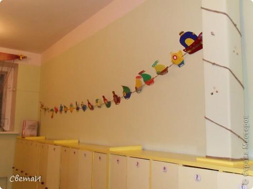 """Гирлянда """"Кораблики"""" (коллективная работа детей и родителей). фото 1"""