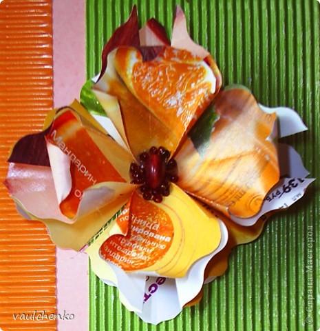 Решила попробовать цветочек оригами (придуманный Людой Likmiass  http://stranamasterov.ru/node/166850  )  выполнить их моих любимых журналов. фото 2