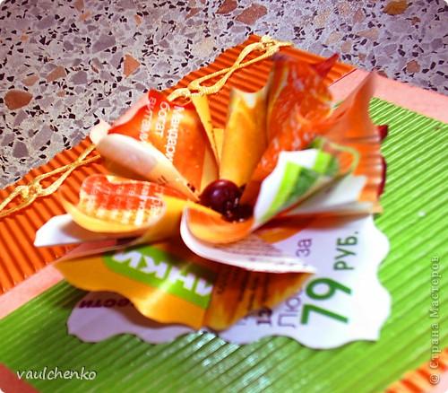 Решила попробовать цветочек оригами (придуманный Людой Likmiass  http://stranamasterov.ru/node/166850  )  выполнить их моих любимых журналов. фото 3