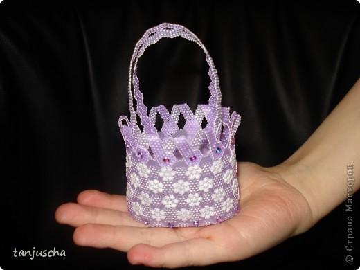 Сделала ещё одну сумочку. Длина сумочки около 6 см. фото 2