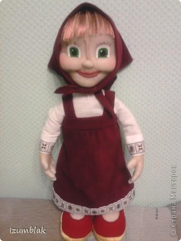Эта кукла сделана для маленькой девочки, которая обожает данный персонаж. Очень надеюсь, что вышло похоже, и вы ее узнаете.  фото 1