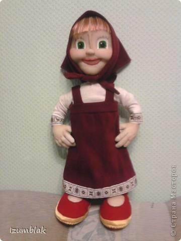 Эта кукла сделана для маленькой девочки, которая обожает данный персонаж. Очень надеюсь, что вышло похоже, и вы ее узнаете.  фото 2