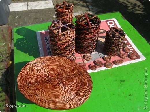 Вот такой органайзер смастерила для себя :))) Большое СПАСИБО !!! Елене-С за мастер-клас по плетению http://stranamasterov.ru/node/15587?c=favorite фото 21