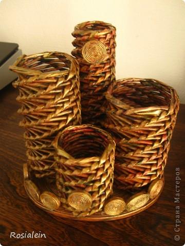 Вот такой органайзер смастерила для себя :))) Большое СПАСИБО !!! Елене-С за мастер-клас по плетению http://stranamasterov.ru/node/15587?c=favorite фото 1