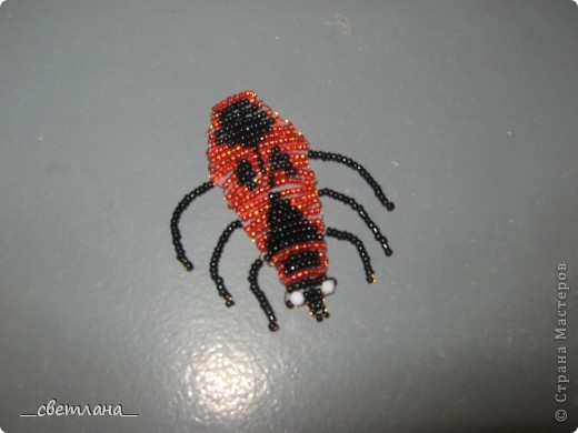Бисероплетение (жуки) фото 1