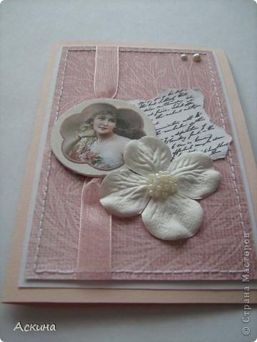 Сделала на днях две открытки на день рождения. Эта открытка коллеге по работе. фото 7