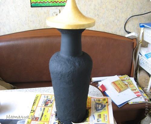 реставрация старой настольной лампы МК фото 6