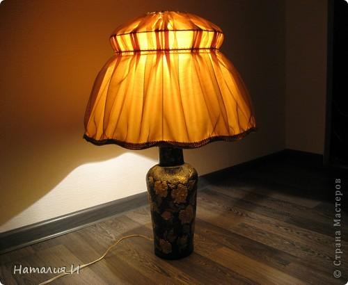 реставрация старой настольной лампы МК фото 1