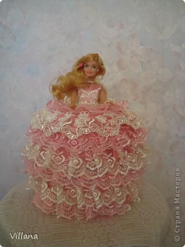 Барби шкатулка по МК ineska фото 1