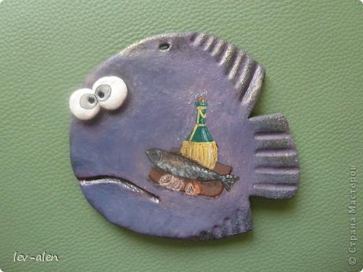 Рыбка- натюрморт фото 1