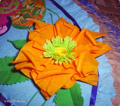 Давно готовилась для Праздника Пасхи  сделать панно,   На одном дыхании создавалась эта работа! Идея Люды ( Likmiass ) с цветочком-оригами  - просто чудо!  фото 3