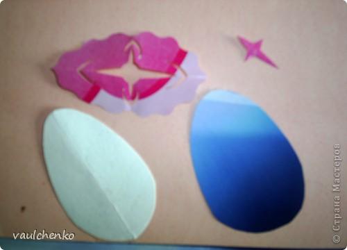 Давно готовилась для Праздника Пасхи  сделать панно,   На одном дыхании создавалась эта работа! Идея Люды ( Likmiass ) с цветочком-оригами  - просто чудо!  фото 7