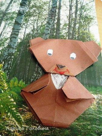 Мишки оригами. фото 2