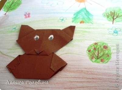 Мишки оригами. фото 3